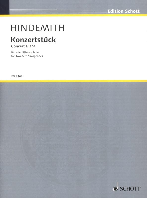 Paul Hindemith - Konzertstück 1933 - Partition - di-arezzo.co.uk