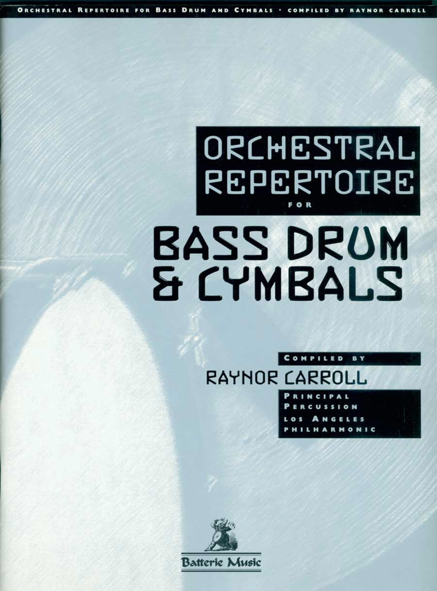 - Orchestral Repertoire For The Bass Drum - Cymbals - Partition - di-arezzo.com