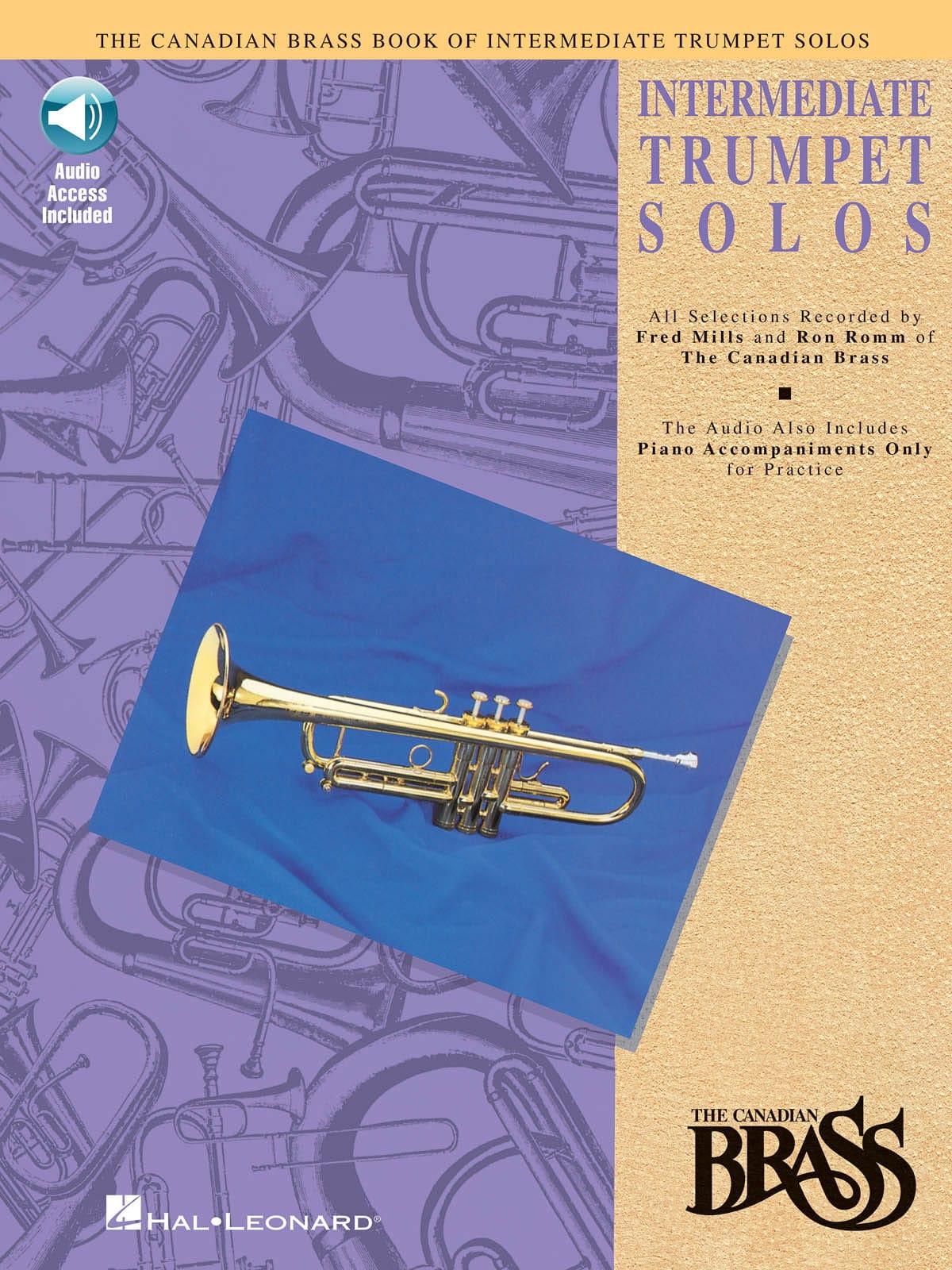 Intermediate Trumpet Solos - Partition - laflutedepan.com