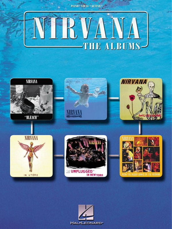 Nirvana - The Albums - Partition - di-arezzo.com