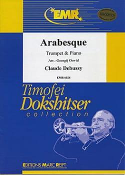 Arabesque - DEBUSSY - Partition - Trompette - laflutedepan.com