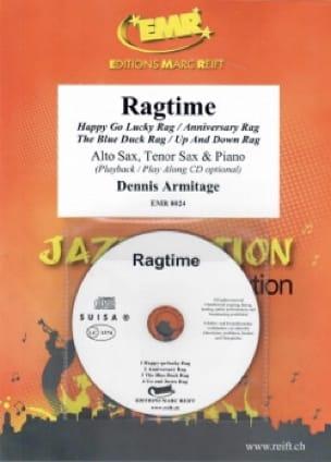 Ragtime - Dennis Armitage - Partition - Saxophone - laflutedepan.com