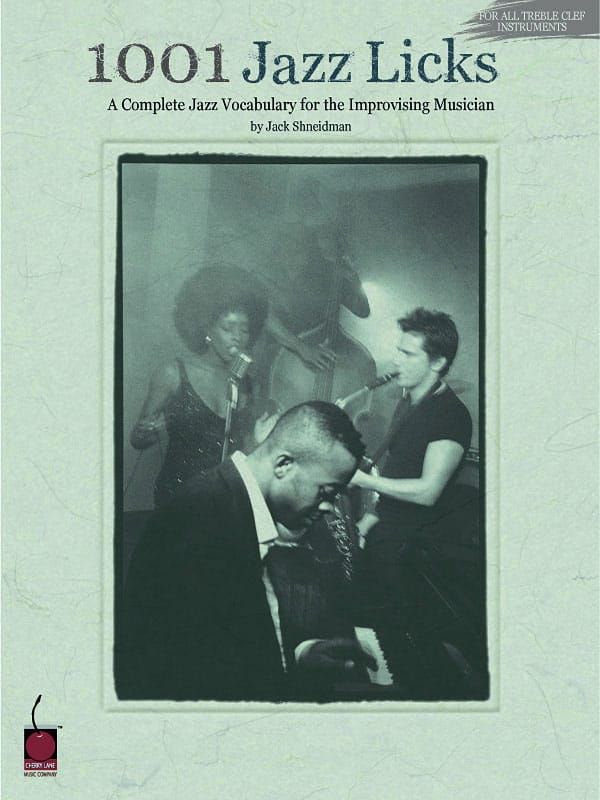 1001 Jazz Licks - Jack Shneidman - Partition - laflutedepan.com