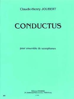 Conductus - Claude-Henry Joubert - Partition - laflutedepan.com