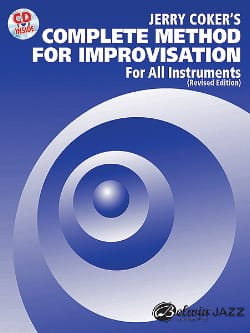 Jerry Coker - Complete Method For Improvisation - Partition - di-arezzo.com