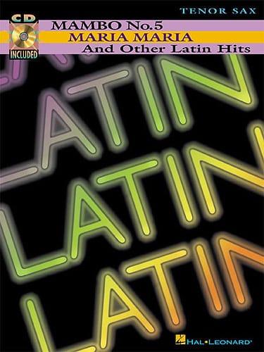 Latin - Partition - Saxophone - laflutedepan.com