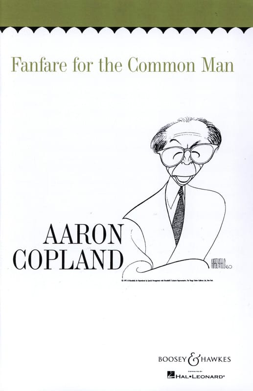 Fanfare for the common man - COPLAND - Partition - laflutedepan.com