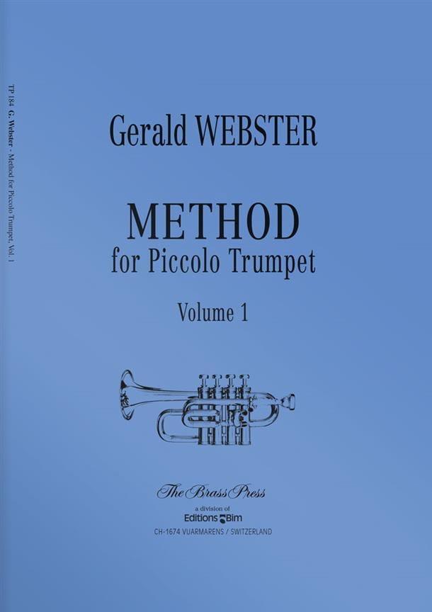 Method For Piccolo Trumpet Volume 1 - laflutedepan.com