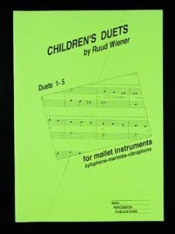 Children's Duets 1-5 - Ruud Wiener - Partition - laflutedepan.com