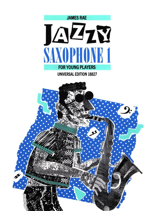 James Rae - Jazzy Saxophone 1 for Young Players - Partition - di-arezzo.com