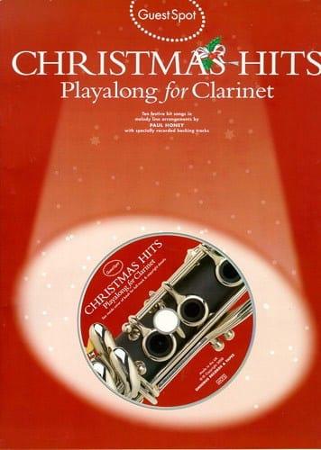 Guest Spot - Christmas Hits Playalong For Clarinet - laflutedepan.com