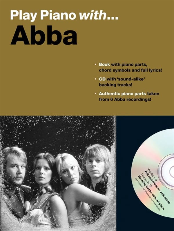 ABBA - Play Piano With ... Abba - Partition - di-arezzo.co.uk