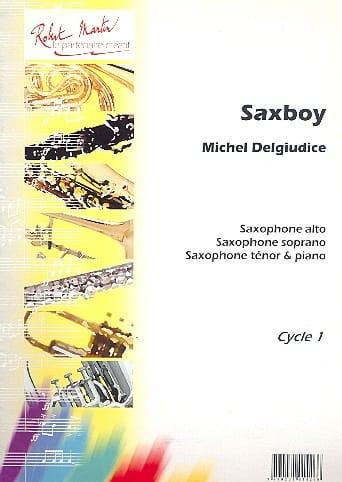 Michel Del Giudice - Saxboy - Partition - di-arezzo.com
