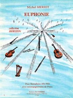 Michel Mériot - Euphony - Partition - di-arezzo.com