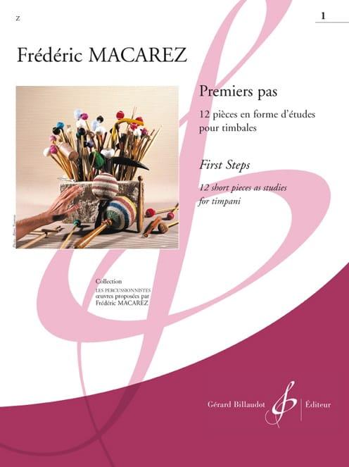 Frédéric Macarez - First steps Volume 1 - Partition - di-arezzo.com