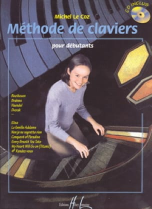 Méthode de Claviers Pour Débutants - Coz Michel Le - laflutedepan.com