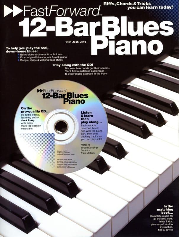 12 Bar Blues Piano - Jack Long - Partition - Jazz - laflutedepan.com