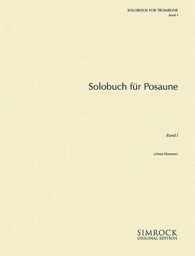 Solobook For Trombone Volume 1 - Partition - laflutedepan.com
