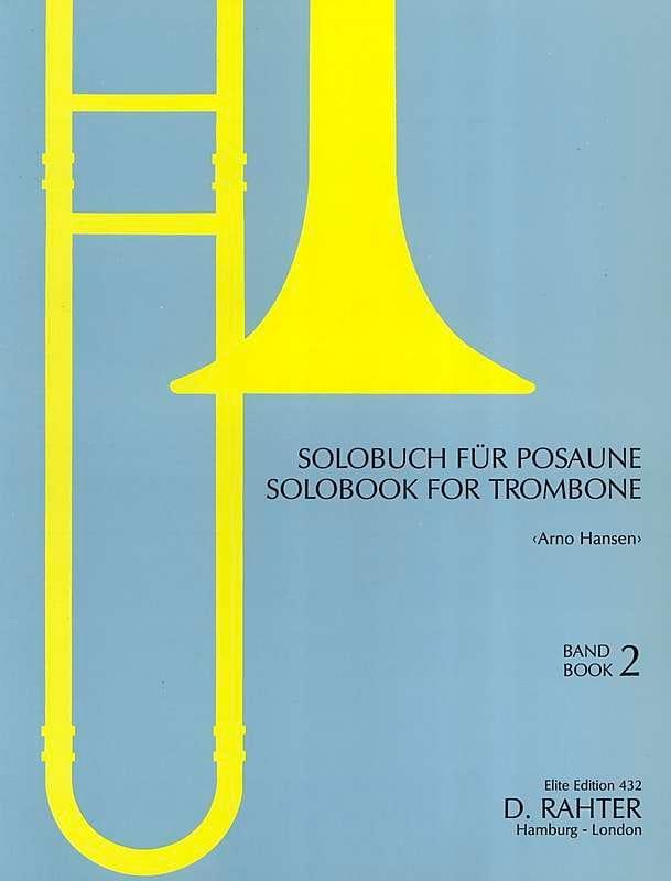 Solobook For Trombone Volume 2 - Partition - laflutedepan.com