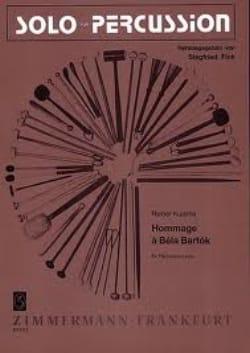 Hommage A Béla Bartok - Rainer Kuisma - Partition - laflutedepan.com