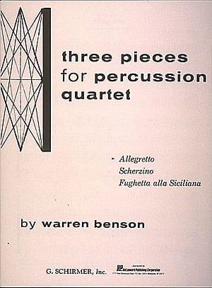 Allegretto - Warren Benson - Partition - laflutedepan.com