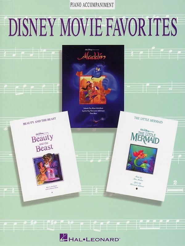 Disney Movie Favorites - DISNEY - Partition - Piano - laflutedepan.com
