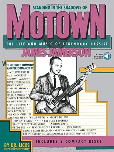 James Jamerson - Standing In The Shadow Of Motown - Partition - di-arezzo.co.uk