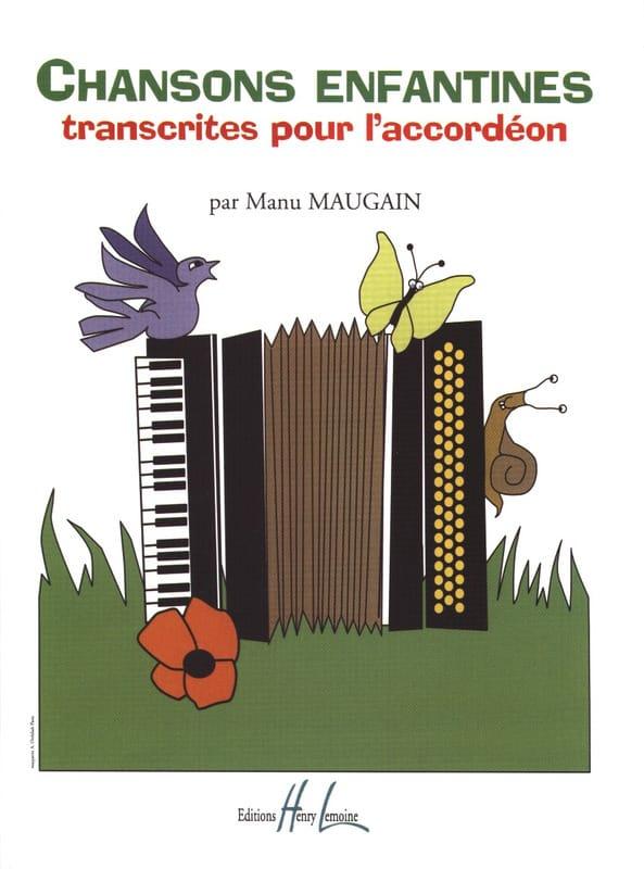 Manu Maugain - Children's songs - Partition - di-arezzo.co.uk