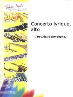 Désiré Dondeyne - Lyrical Concerto - Partition - di-arezzo.co.uk