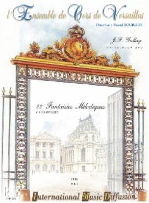 Jacques-François Gallay - 22 Fantaisies Mélodiques Opus 58 - Partition - di-arezzo.fr