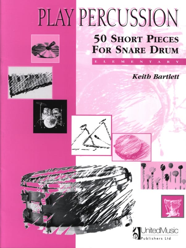 Keith Bartlett - 50 Pieces Short Snare Drum - Elementary - Partition - di-arezzo.co.uk