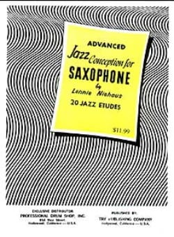 Advanced Jazz Conception For Saxophone - laflutedepan.com