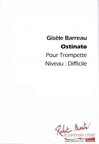 Ostinato Version 1 - Gisèle Barreau - Partition - laflutedepan.com