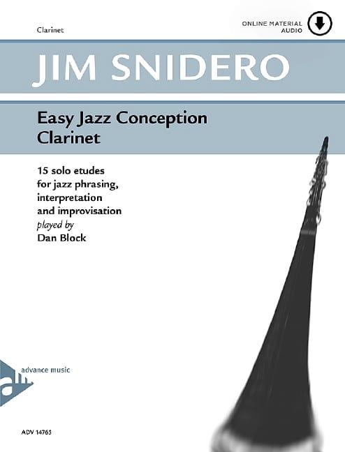 Jim Snidero - Easy jazz design - 15 solo studies - Partition - di-arezzo.com