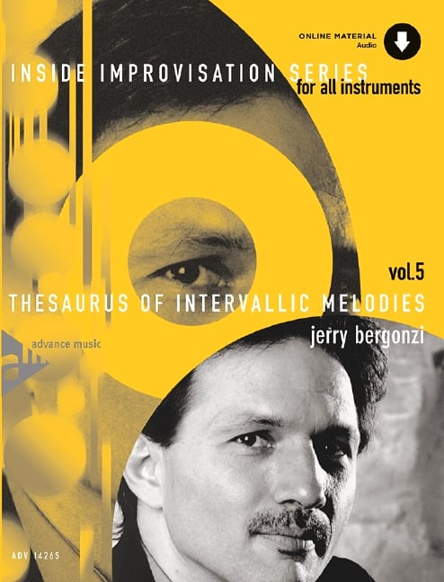 Jerry Bergonzi - Volume 5 - Thesaurus Of Intervallic Melodies - Partition - di-arezzo.co.uk
