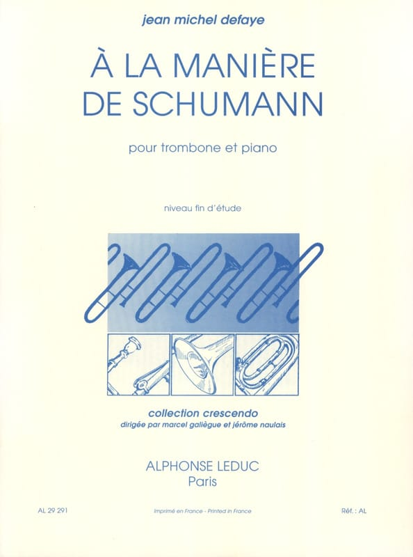 Jean-Michel Defaye - In the Schumann Way - Partition - di-arezzo.com