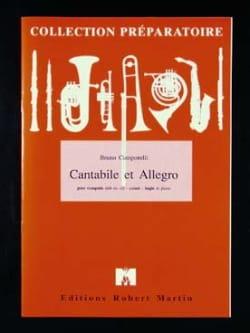 Cantabile Et Allegro - Bruno Camporelli - Partition - laflutedepan.com