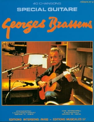 Georges Brassens - 40 Songs - Special Guitar Album 2 - Partition - di-arezzo.co.uk