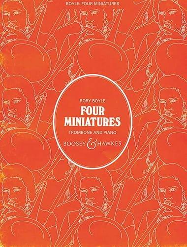 4 Miniatures - Rory Boyle - Partition - Trombone - laflutedepan.com