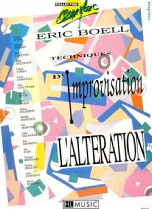 Eric Boell - Técnicas de Improvisación 2 - Alteración - Partition - di-arezzo.es