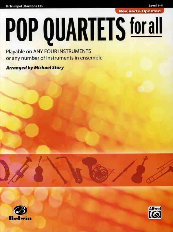 Michael Story - Pop quartets for all - Revised - Updated - Partition - di-arezzo.com