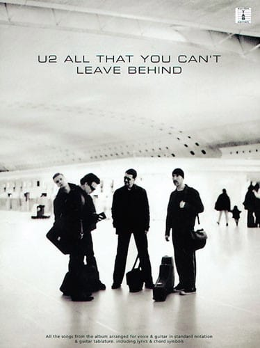 All That You Can't Leave Behind - U2 - Partition - laflutedepan.com