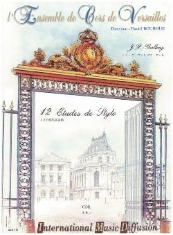 12 Etudes de Style - Jacques-François Gallay - laflutedepan.com
