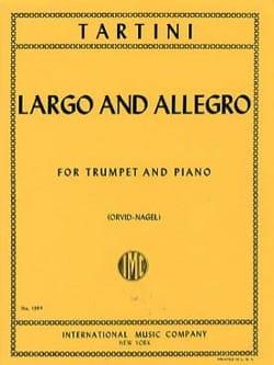 Largo And Allegro - TARTINI - Partition - Trompette - laflutedepan.com
