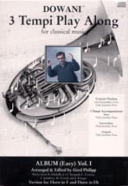 3 Tempi Play Along, Album Easy Volume 1 - laflutedepan.com