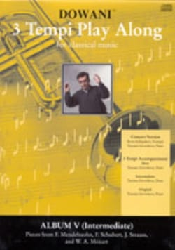 3 Tempi Play Along, Album 5 Intermediate - laflutedepan.com