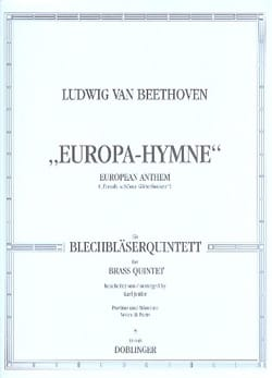 Europa-Hymne - BEETHOVEN - Partition - laflutedepan.com