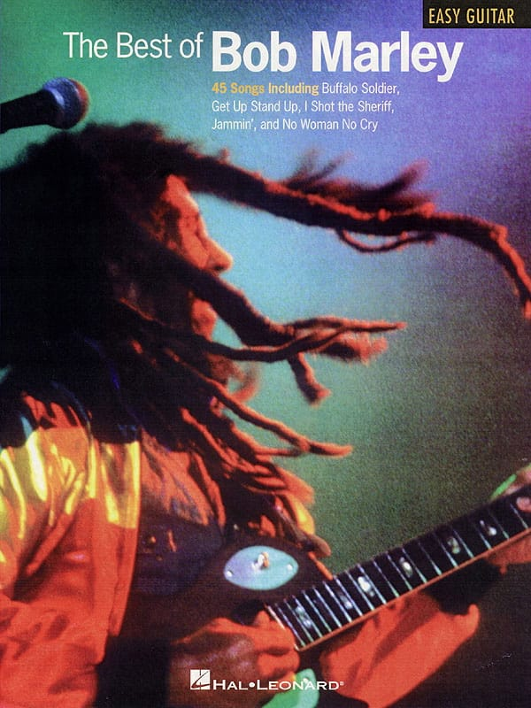 Bob Marley - The Best Of - Easy Guitar - Partition - di-arezzo.co.uk