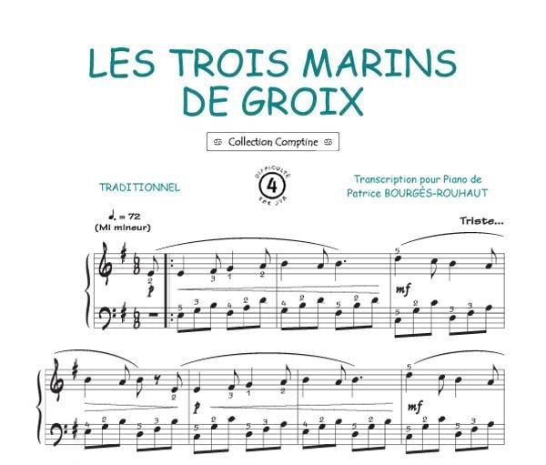 Traditionnel - The Three Sailors of Groix - Partition - di-arezzo.co.uk