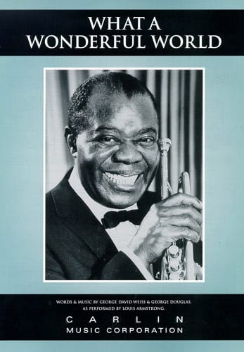 Louis Armstrong - What A Wonderful World - Partition - di-arezzo.co.uk